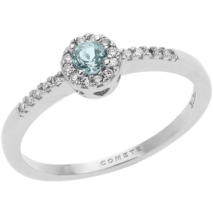 anello donna gioielli Comete Fantasia Di Acquamarina ANQ 290