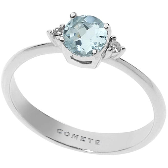 anello donna gioielli Comete Fantasia Di Acquamarina ANQ 294