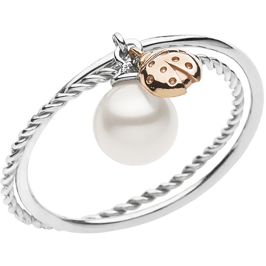 anello donna gioielli Comete Fantasie di perle ANP 364
