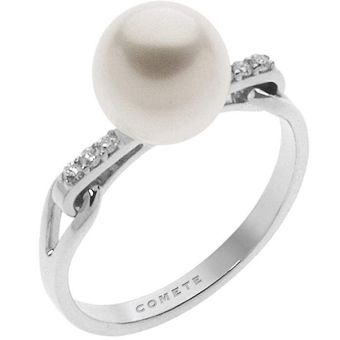 anello donna gioielli Comete Fantasie di perle ANP 377