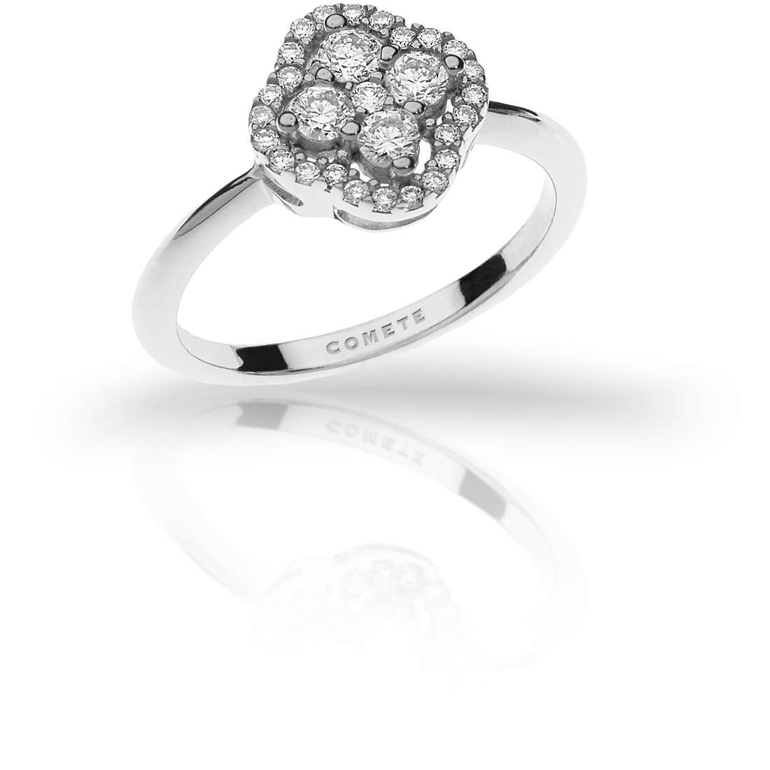 anello donna gioielli Comete Flora ANB 1914