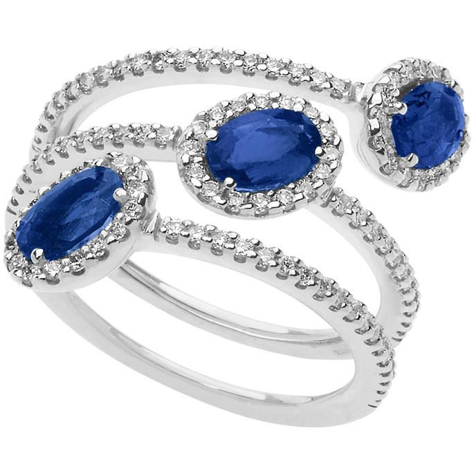 anello donna gioielli Comete Ginevra ANB 2160