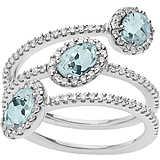 anello donna gioielli Comete Ginevra ANQ 293
