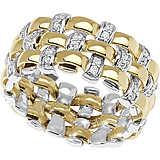 anello donna gioielli Comete Intrecci ANB 1962