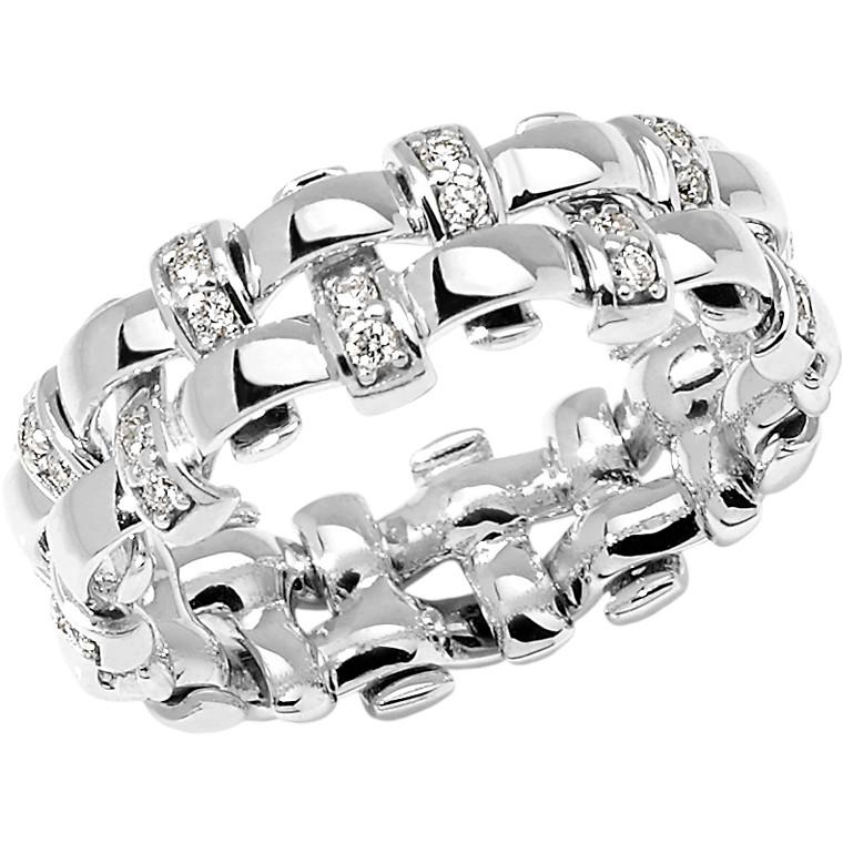 anello donna gioielli Comete Intrecci ANB 1963