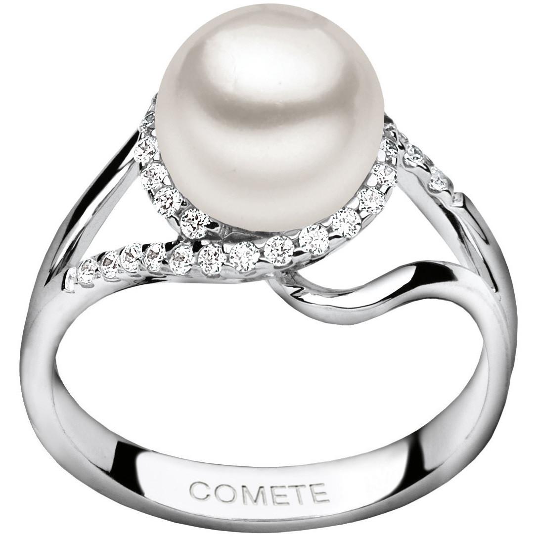 anello donna gioielli Comete Perla ANP 299