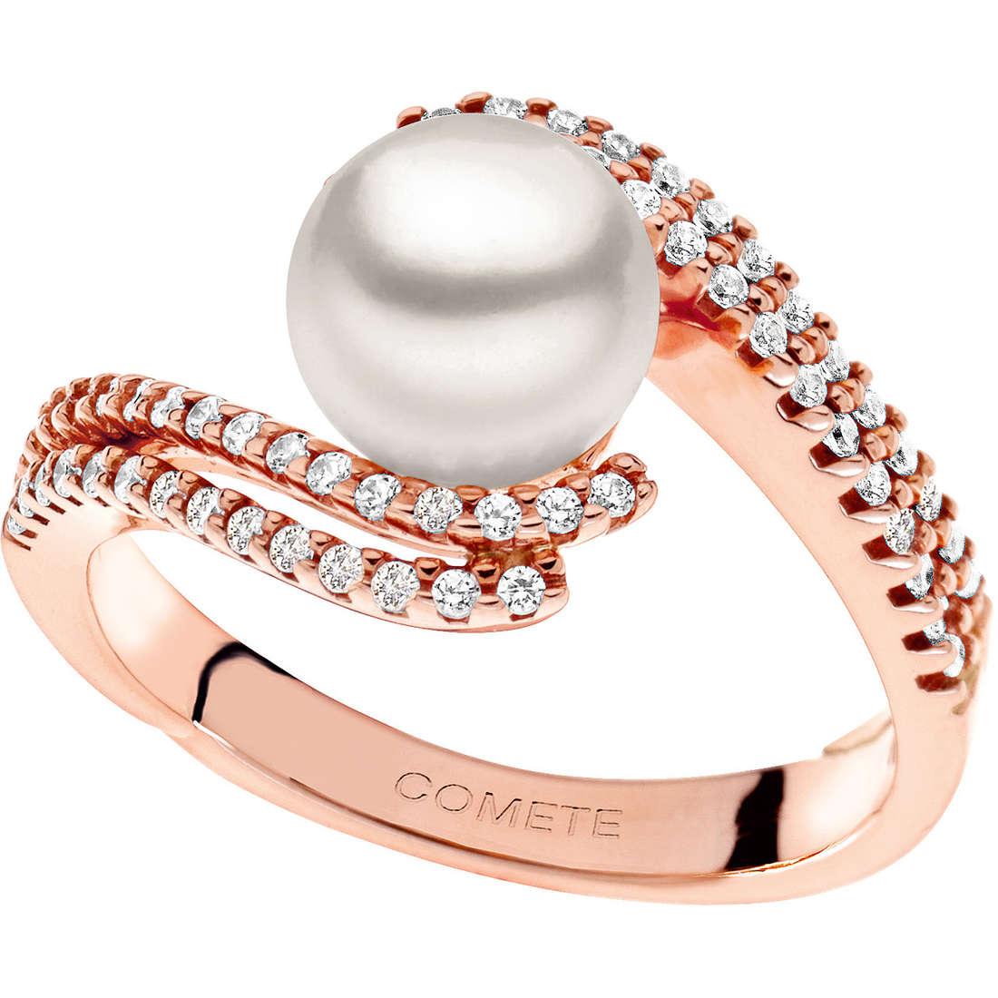 anello donna gioielli Comete Perla ANP 340