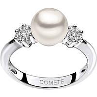 anello donna gioielli Comete Perla ANP 343