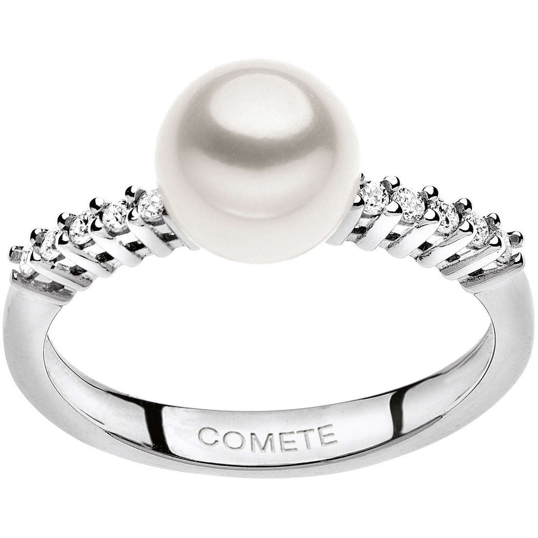 anello donna gioielli Comete Perla ANP 346