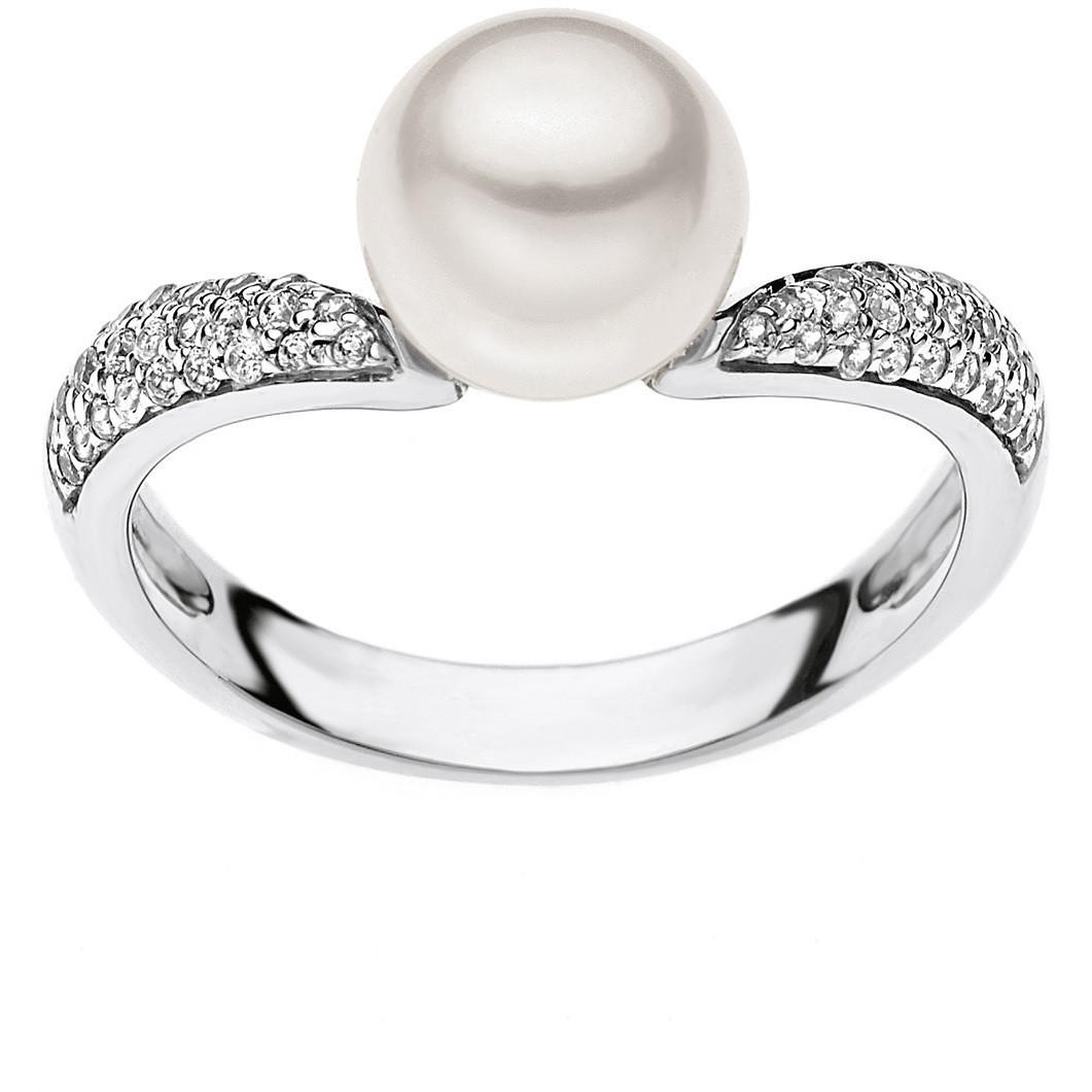 anello donna gioielli Comete Perla ANP 348
