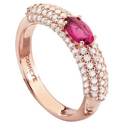 anello donna gioielli Comete Pietre preziose colorate ANB 1396