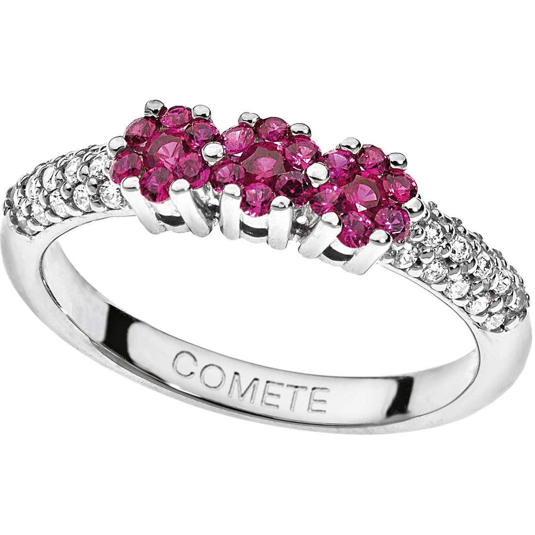 anello donna gioielli Comete Pietre preziose colorate ANB 1483