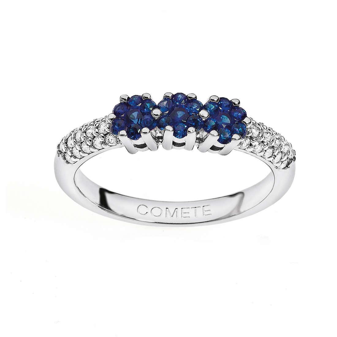 anello donna gioielli Comete Pietre preziose colorate ANB 1484