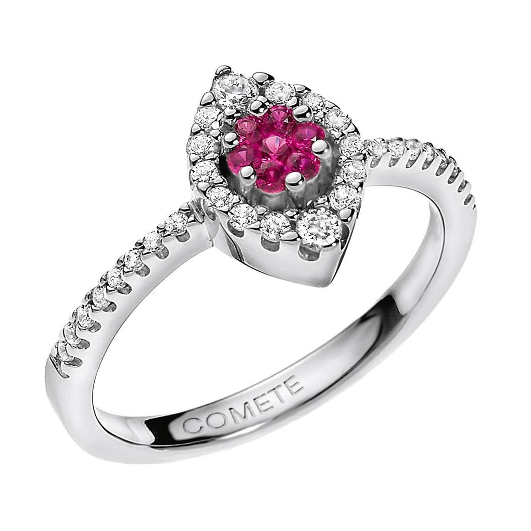 anello donna gioielli Comete Pietre preziose colorate ANB 1493