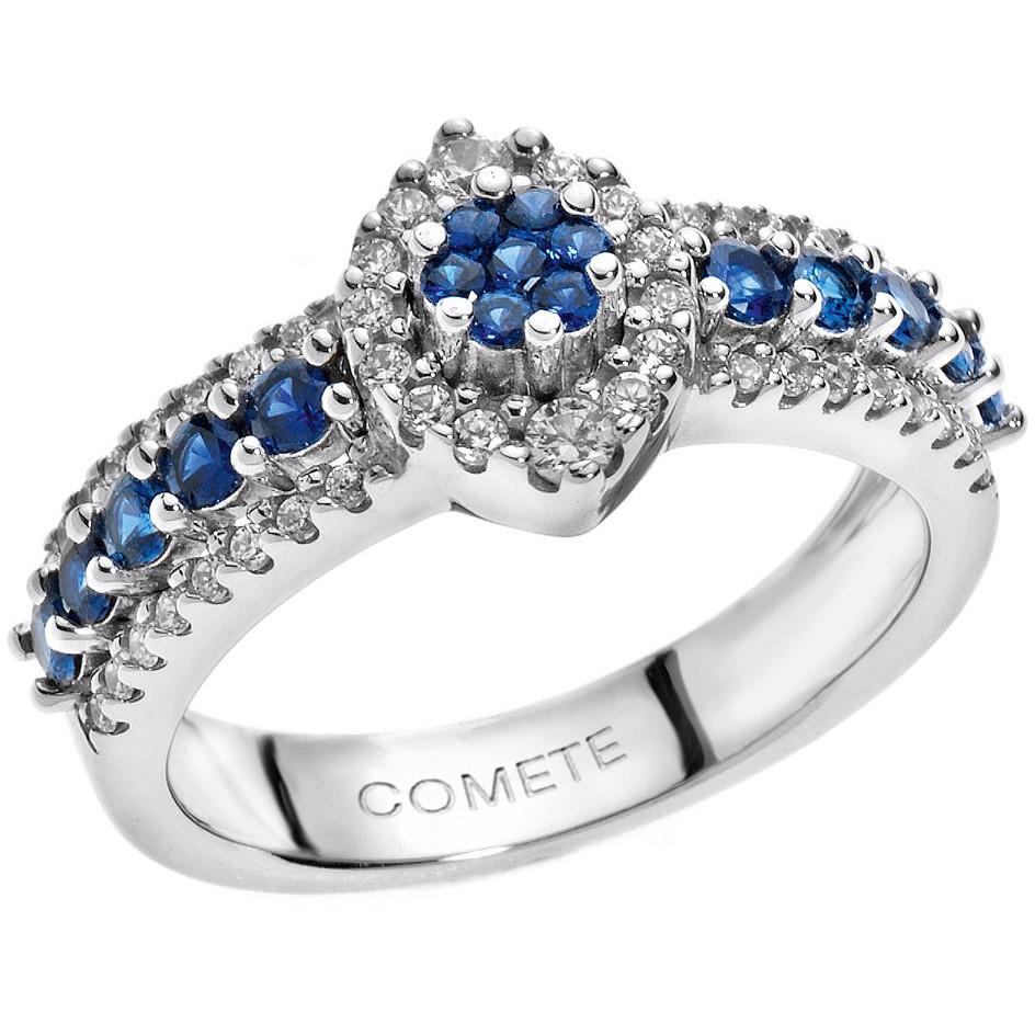anello donna gioielli Comete Pietre preziose colorate ANB 1496