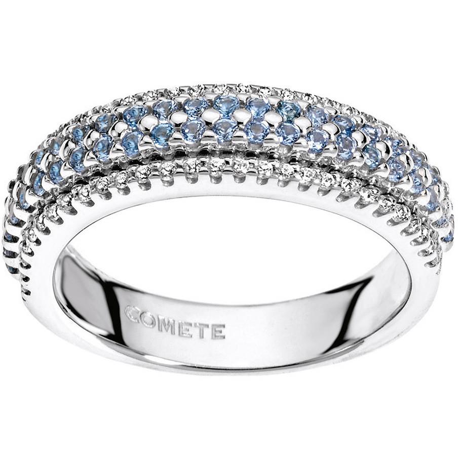 anello donna gioielli Comete Pietre preziose colorate ANB 1556