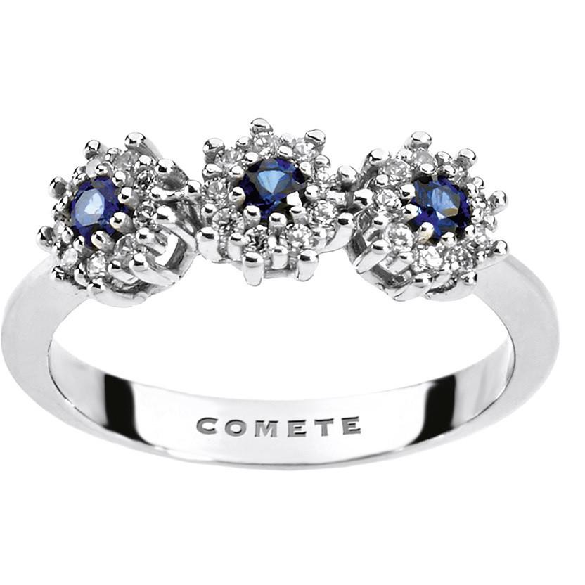 anello donna gioielli Comete Pietre preziose colorate ANB 1664