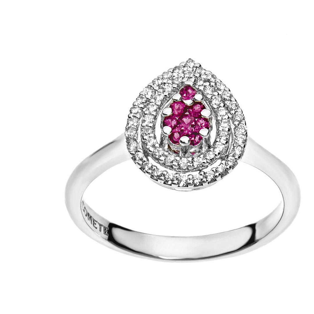 anello donna gioielli Comete Pietre preziose colorate ANB 1718