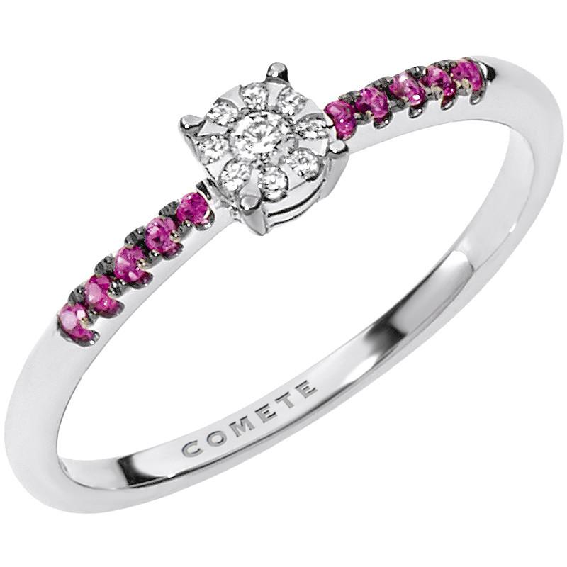 anello donna gioielli Comete Pietre preziose colorate ANB 1731