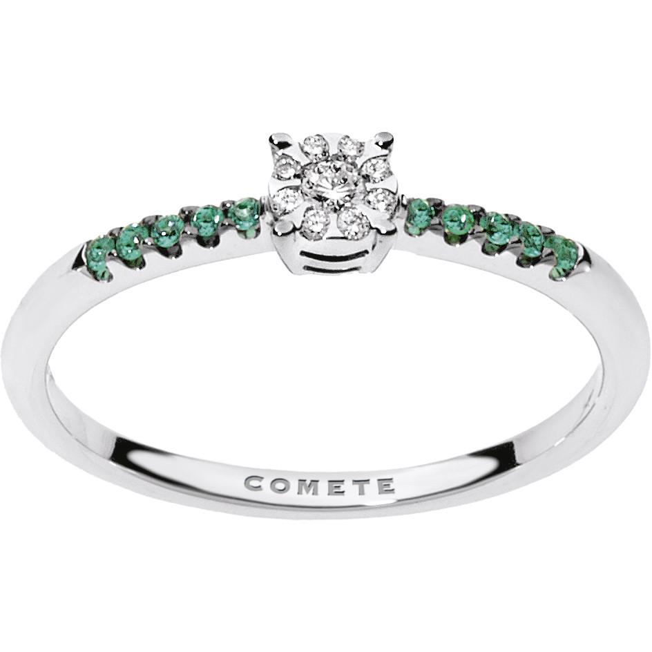 anello donna gioielli Comete Pietre preziose colorate ANB 1732