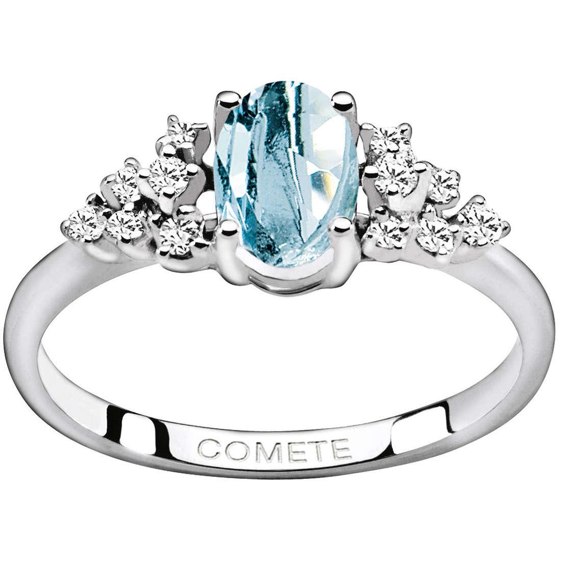 anello donna gioielli Comete Pietre preziose colorate ANQ 262