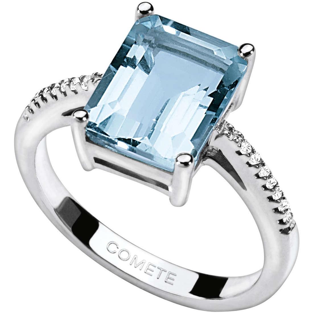 anello donna gioielli Comete Pietre preziose colorate ANQ 263