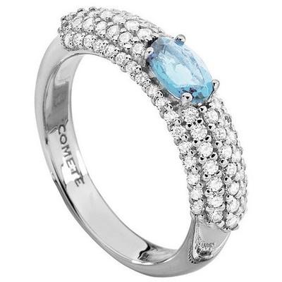 anello donna gioielli Comete Pietre preziose colorate ANQ 264