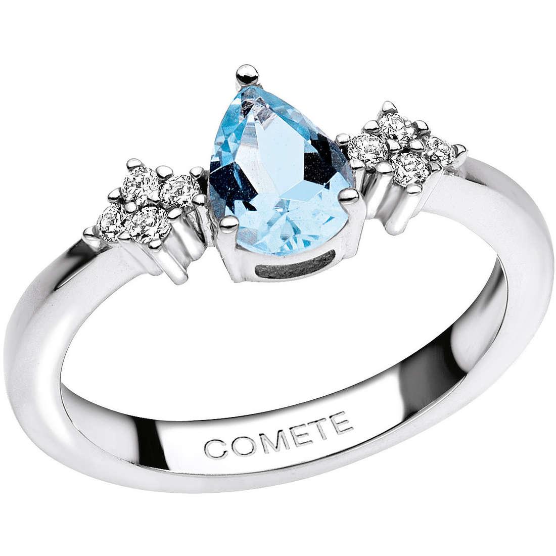 anello donna gioielli Comete Pietre preziose colorate ANQ 268
