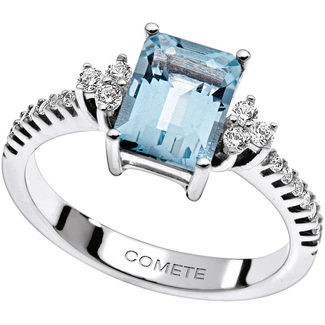 anello donna gioielli Comete Pietre preziose colorate ANQ 269