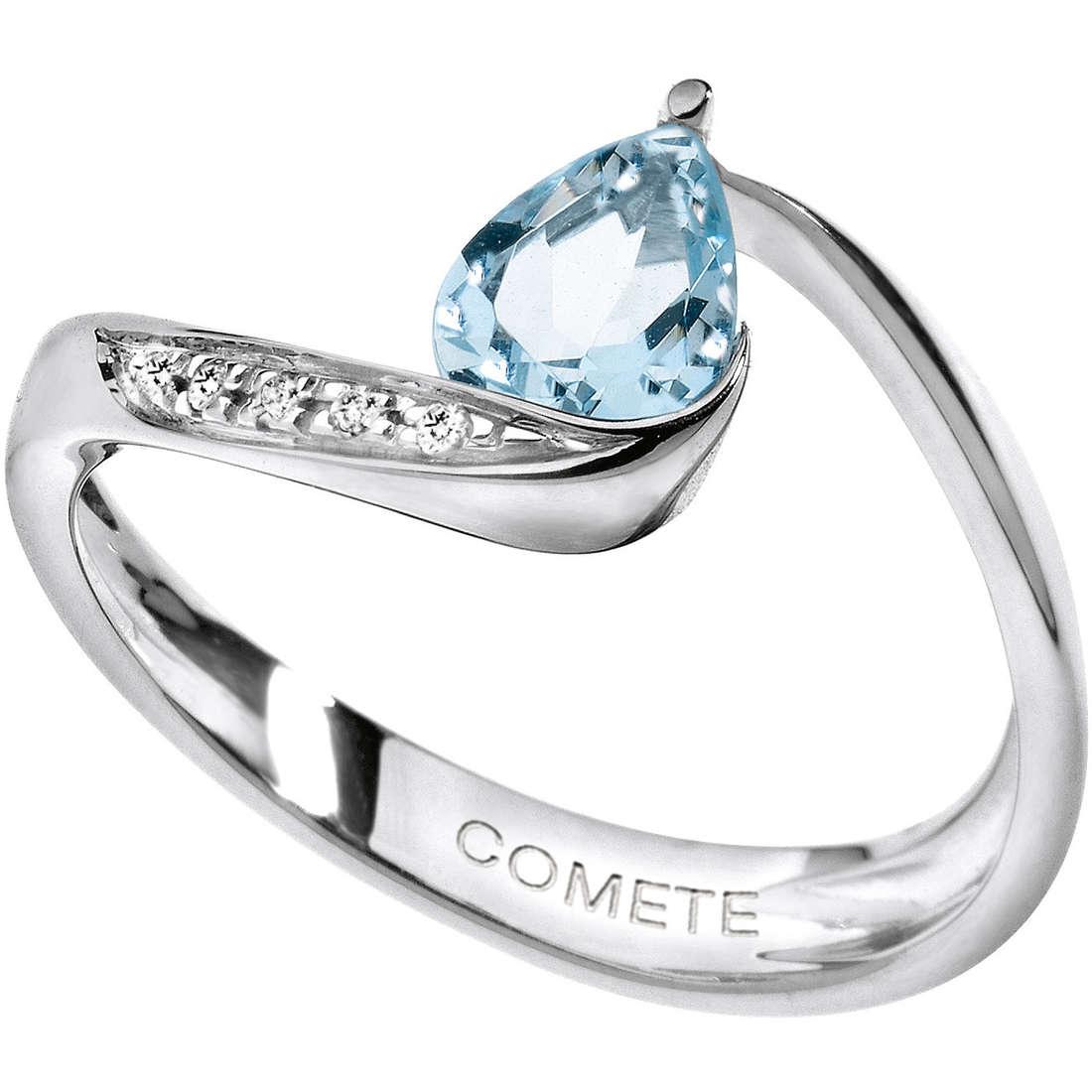 anello donna gioielli Comete Pietre preziose colorate ANQ 272
