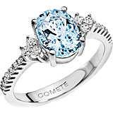 anello donna gioielli Comete Pietre preziose colorate ANQ 273