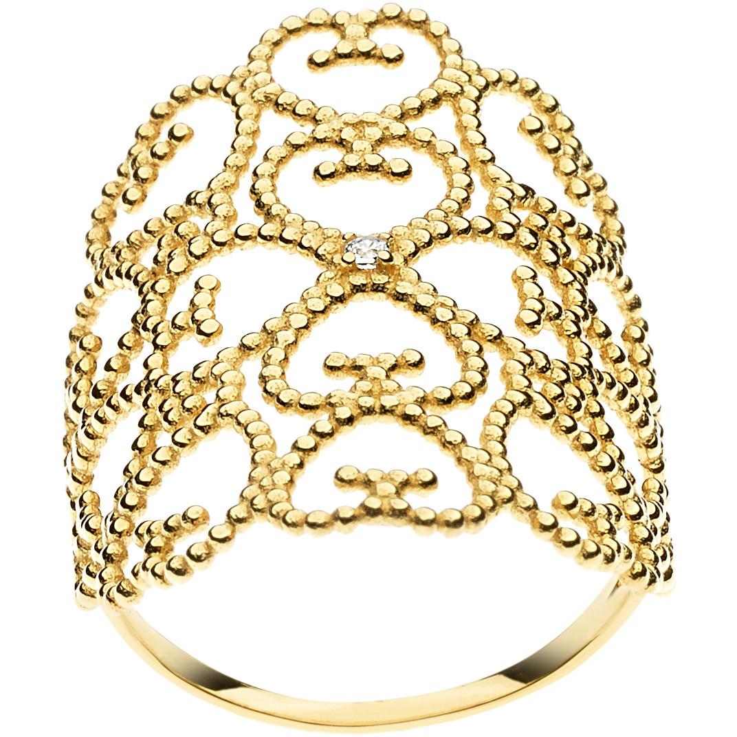 anello donna gioielli Comete Regina ANB 1919