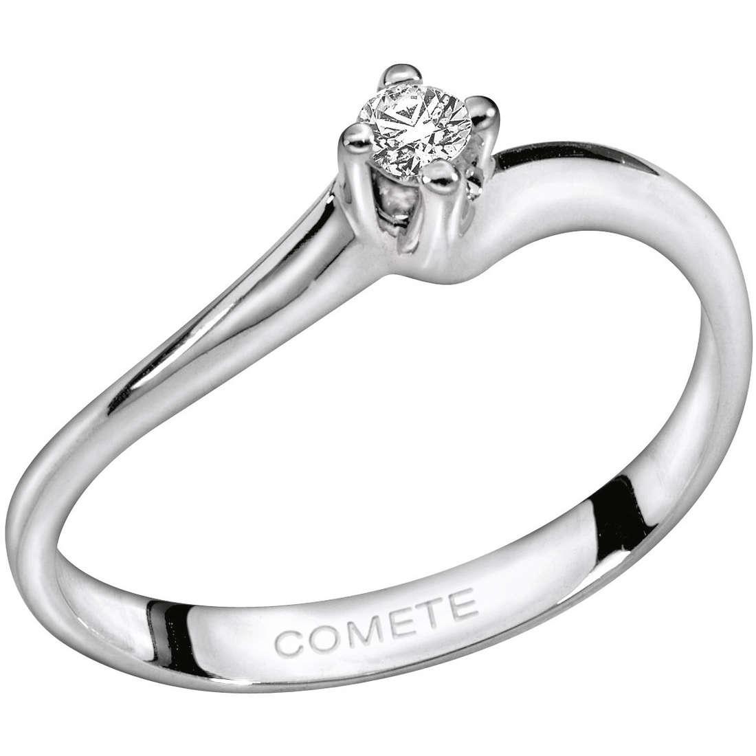 anello donna gioielli Comete Solitario ANB 1156