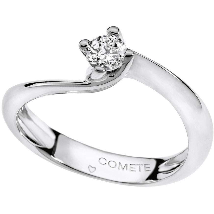 anello donna gioielli Comete Solitario ANB 1505