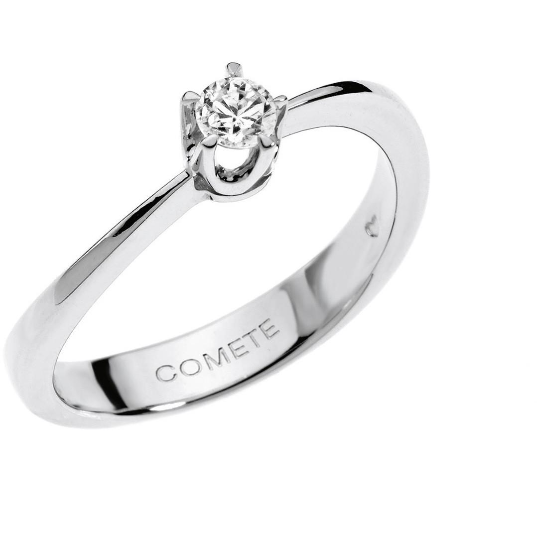 anello donna gioielli Comete Solitario ANB 1507