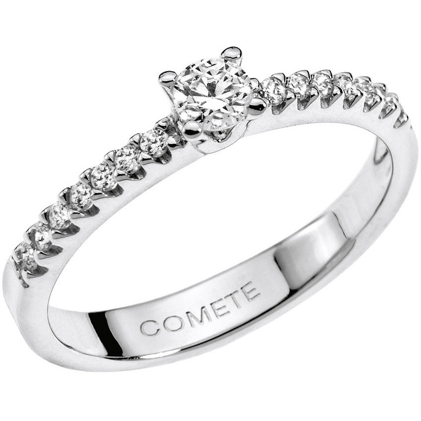 anello donna gioielli Comete Solitario ANB 1518
