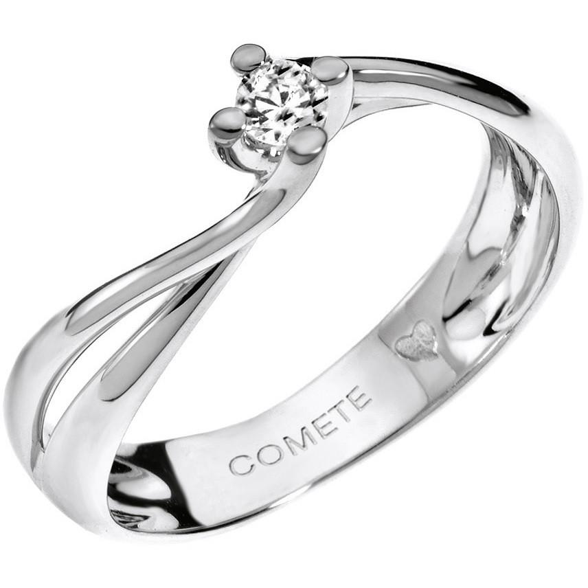 anello donna gioielli Comete Solitario ANB 1536