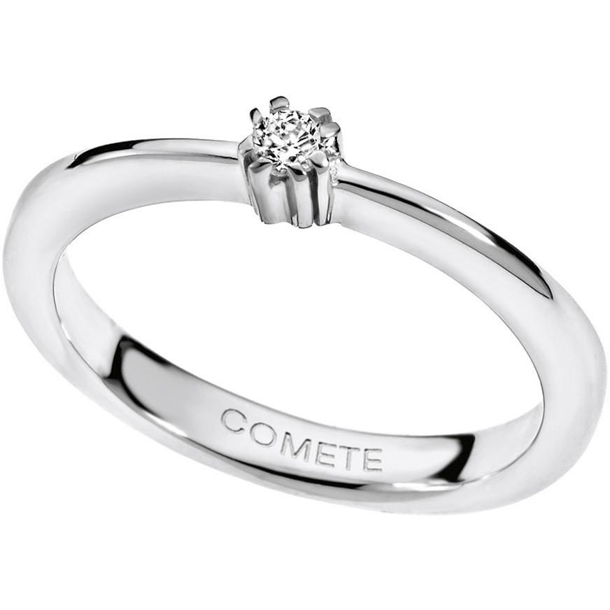 anello donna gioielli Comete Solitario ANB 1537