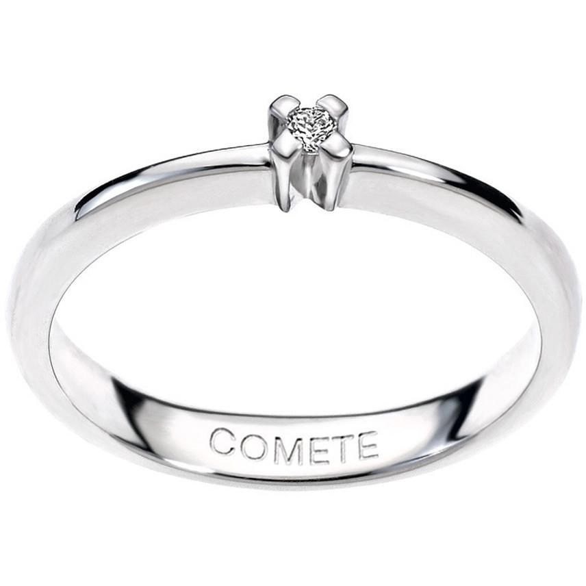 anello donna gioielli Comete Solitario ANB 1564