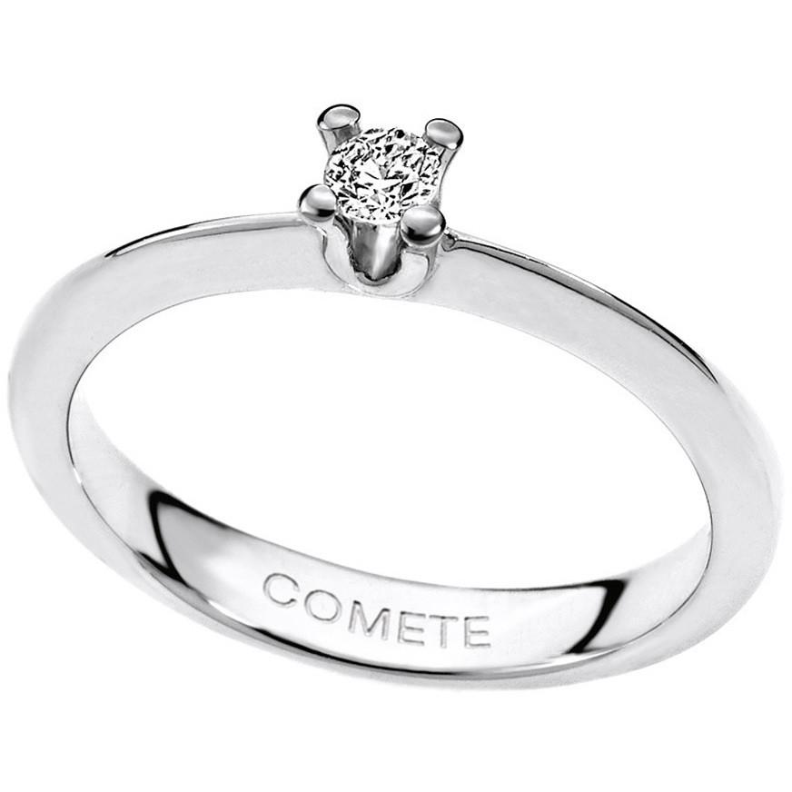 anello donna gioielli Comete Solitario ANB 1567