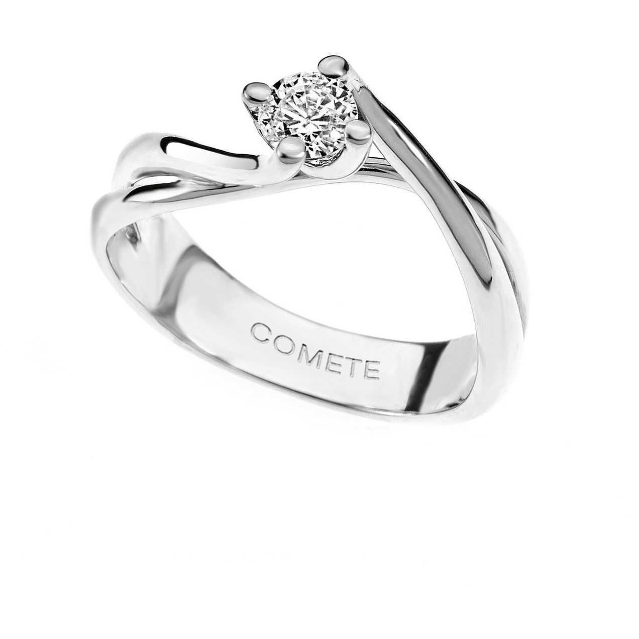 più foto e6006 d0df3 anello donna gioielli Comete Solitario ANB 1568