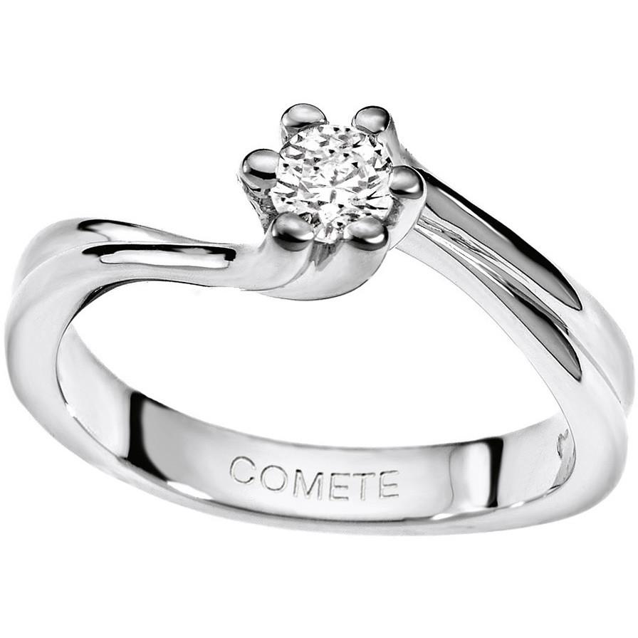 anello donna gioielli Comete Solitario ANB 1569