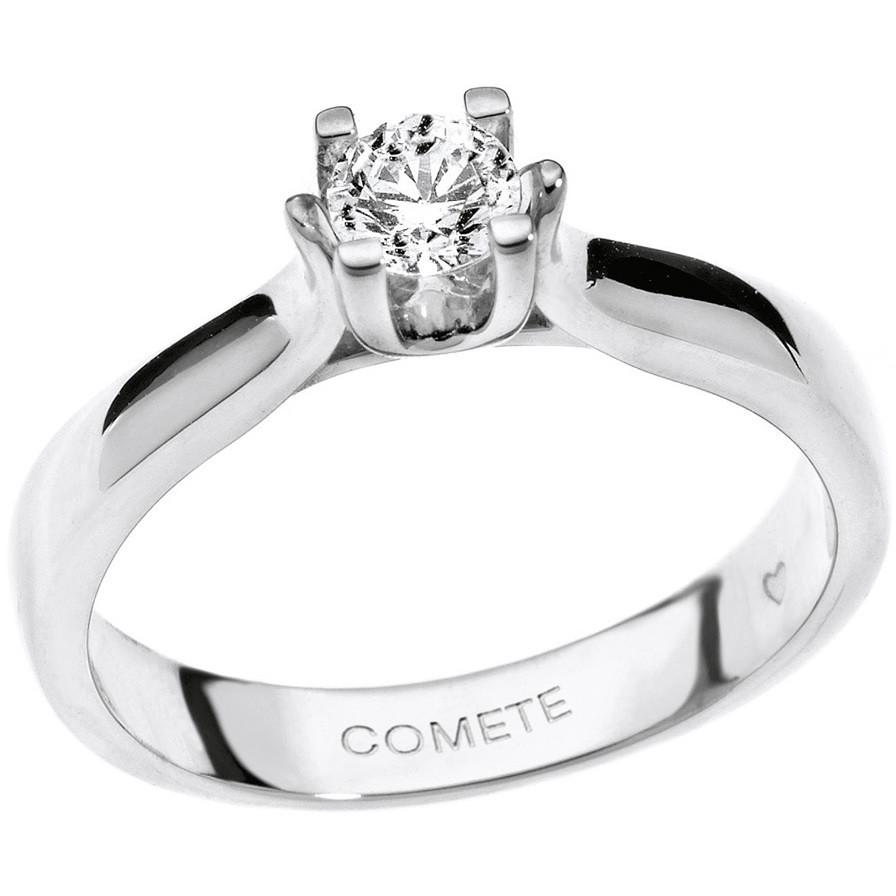 anello donna gioielli Comete Solitario ANB 1570
