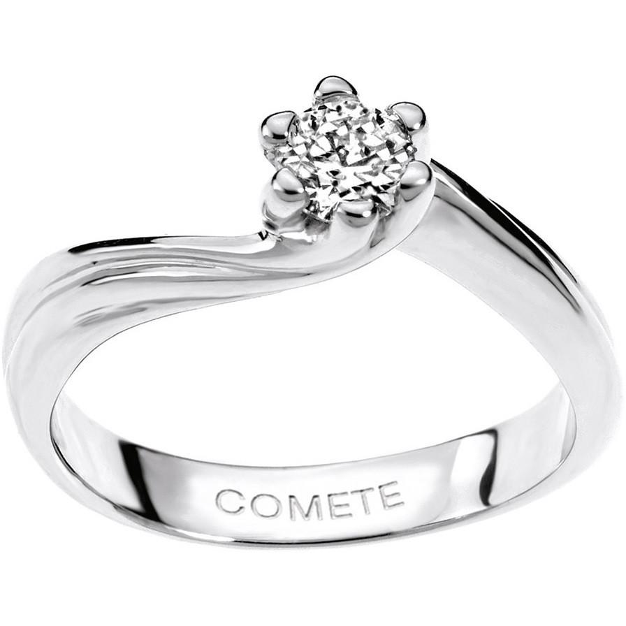 anello donna gioielli Comete Solitario ANB 1573