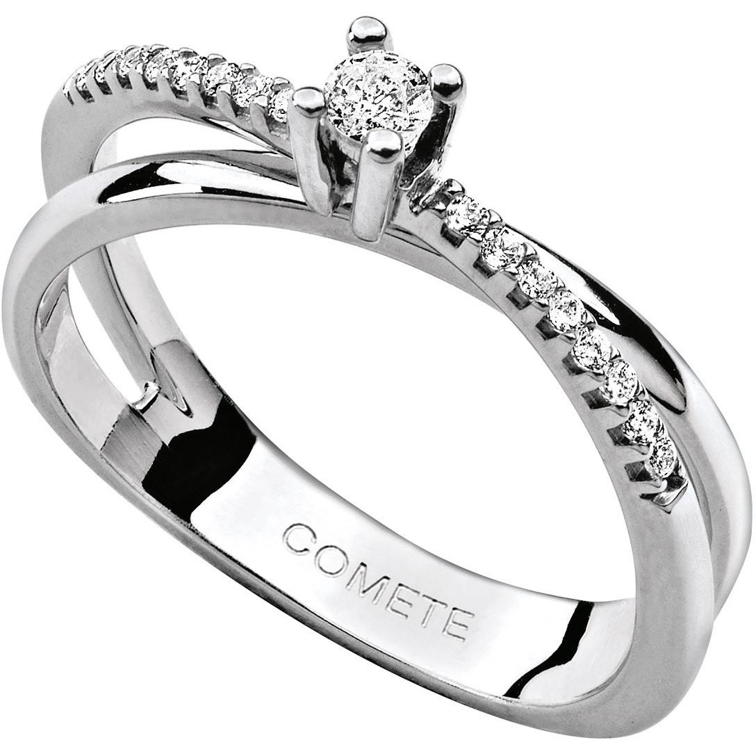 anello donna gioielli Comete Solitario ANB 1580