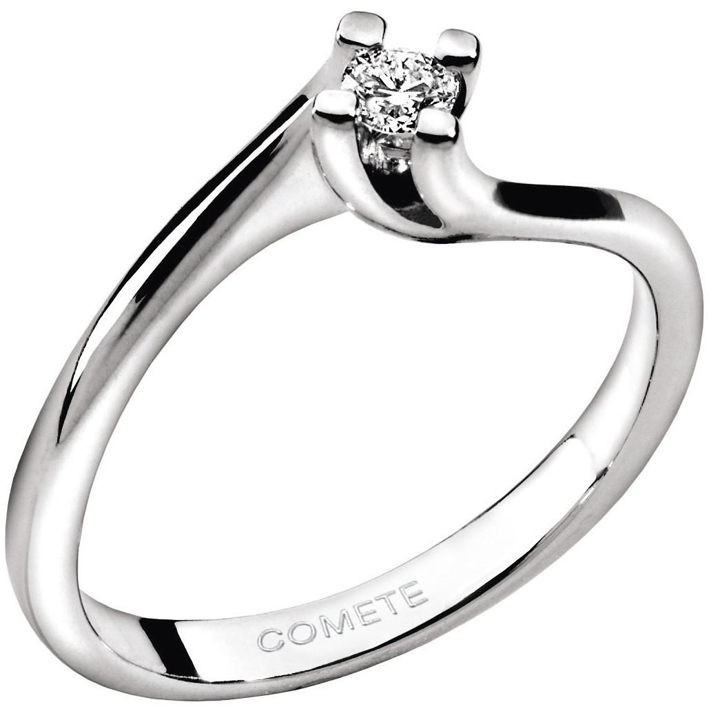 anello donna gioielli Comete Solitario ANB 1582