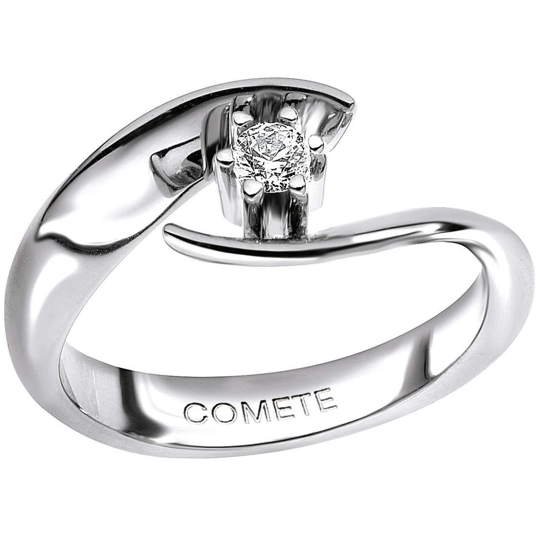 anello donna gioielli Comete Solitario ANB 1584
