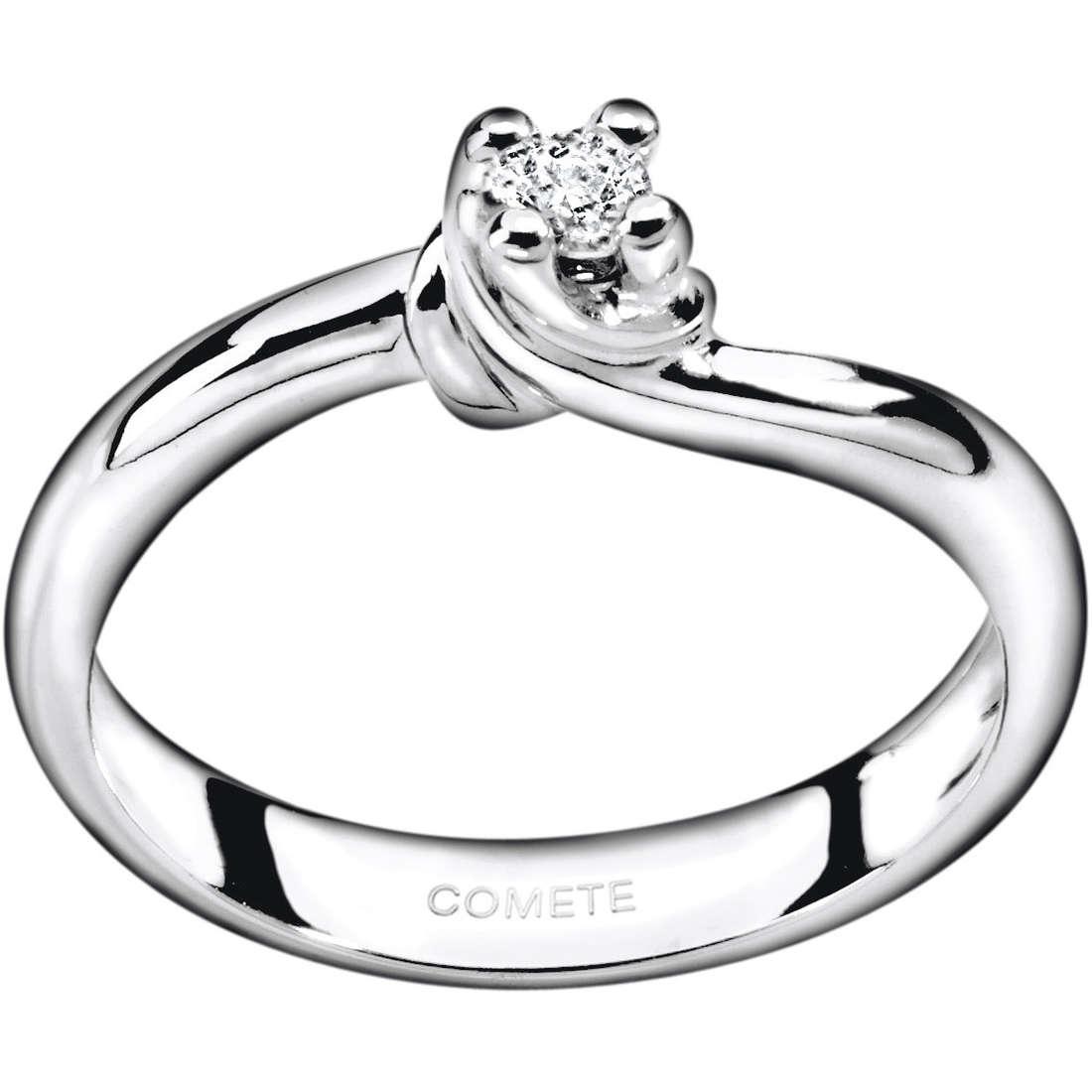 anello donna gioielli Comete Solitario ANB 1586