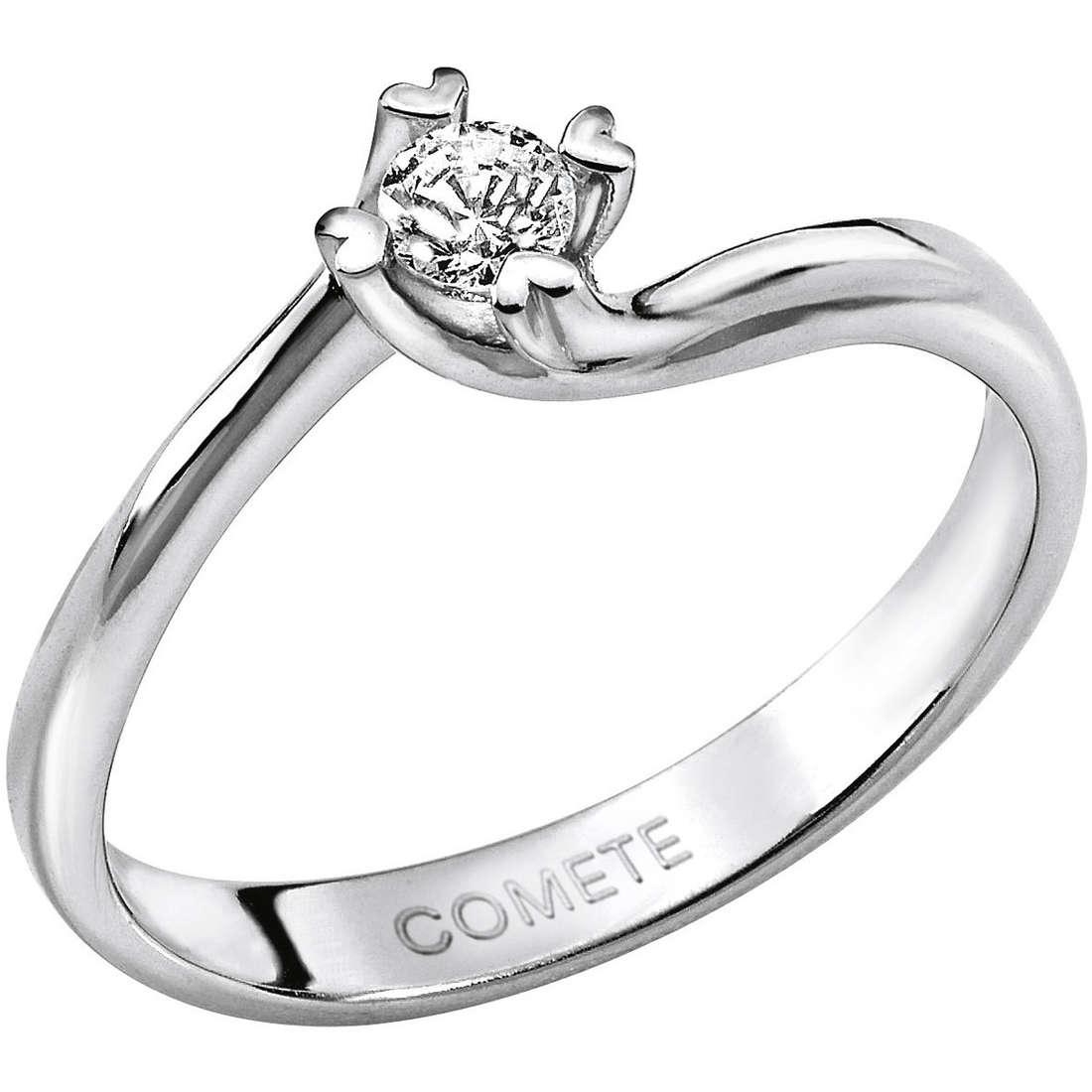 anello donna gioielli Comete Solitario ANB 1587