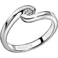 anello donna gioielli Comete Solitario ANB 1589